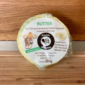 Jersey Kuhmilch Butter 1 Packung 200 g
